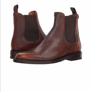 Frye Brown Chelsea Boots NWT